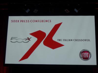 500x新車発表会に行ってきました/やっぱりイタリアンデザインはいい!