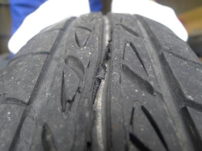 【パンダの走行のわずかな違和感】原因は…タイヤのセパレーションでした