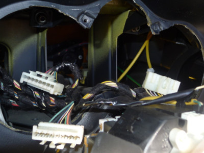 バルケッタのスピードメーターの取り外し